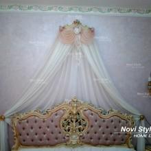 Балдахин на кровать в стиле барокко