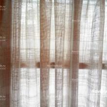 """шторы из льна в стиле """"кафе"""" на пластиковое окно"""