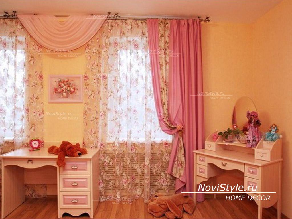Какие выбрать шторы в детскую комнату: римские, рулонные, короткие или классические.