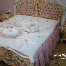 Покрывало на кровать в стиле барокко