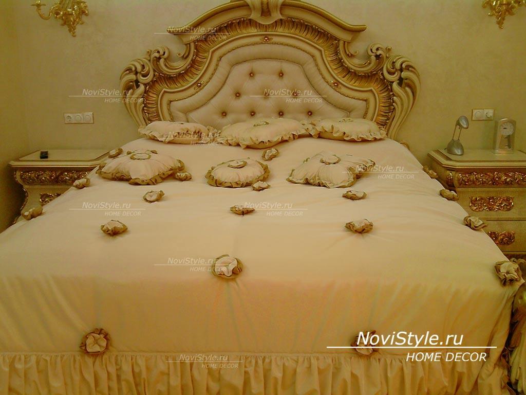 Элитные покрывала для спальни фото
