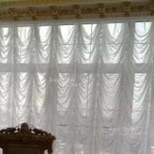 Французские шторы в гостиную