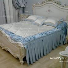 Покрывало и шторы для элитной спальни