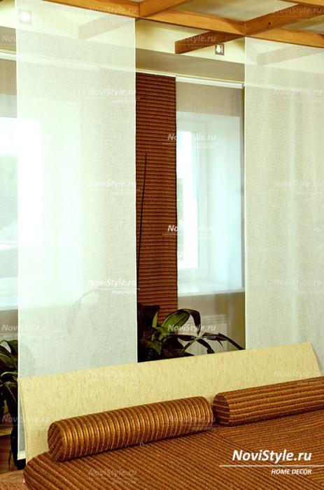 Потолочные шторы в спальню