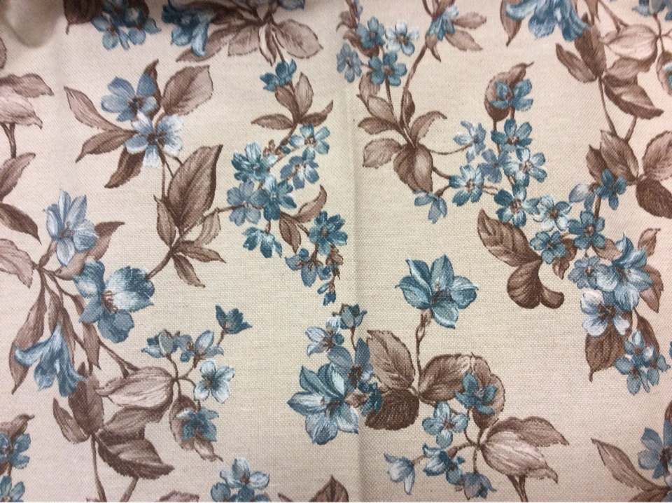 Принтовая ткань Kamil B Blue 20