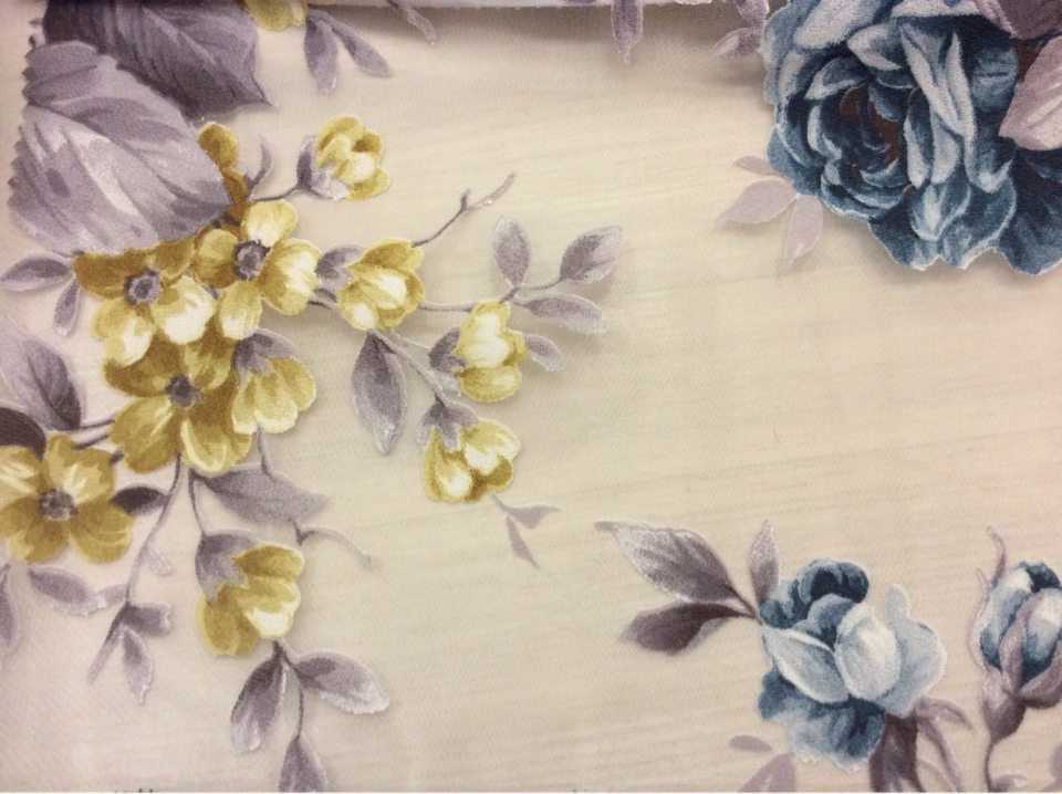 Цветочная ткань купить в Москве