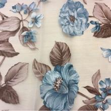 Ткань с цветами Candi Devore Turquoise 23. Испания, принт