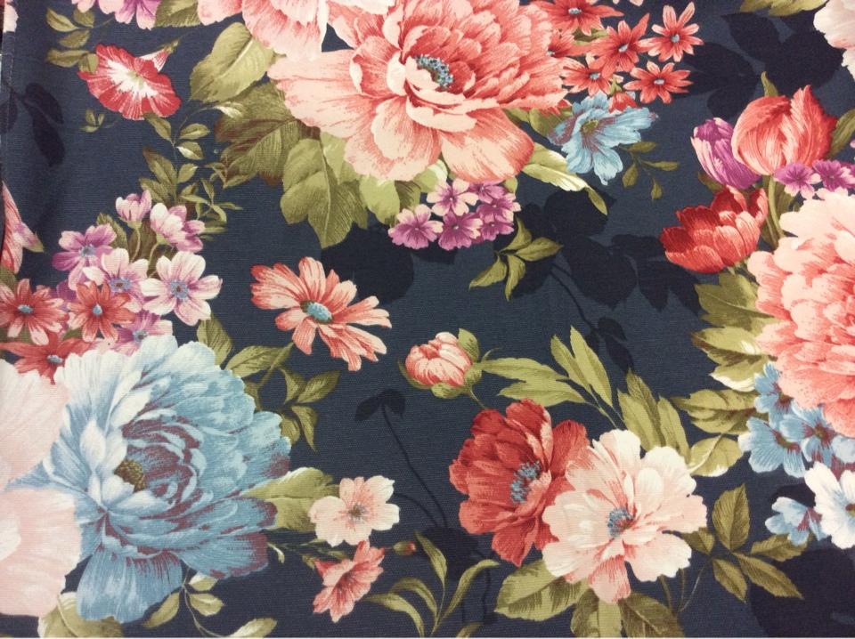 Ткань с цветами купить в интернет-магазине