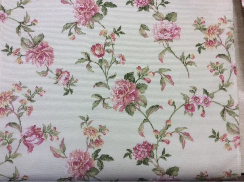 Цветочный принт на ткани Испания Gospa Coord P