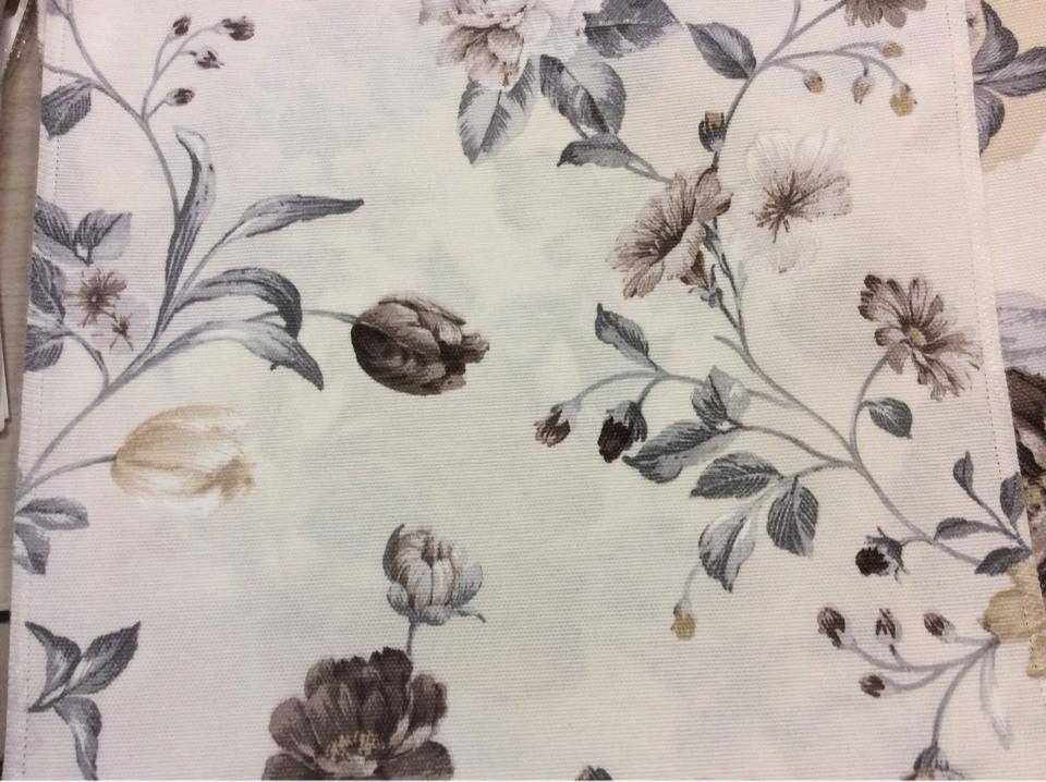 Цветочная ткань для занавесок Испания принт, цветочная