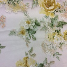 Ткань из вискозы в стиле прованс Isabelle 1