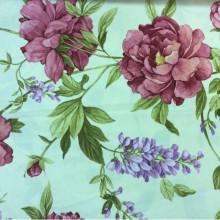 Ткань с растительным принтом Lilas 3