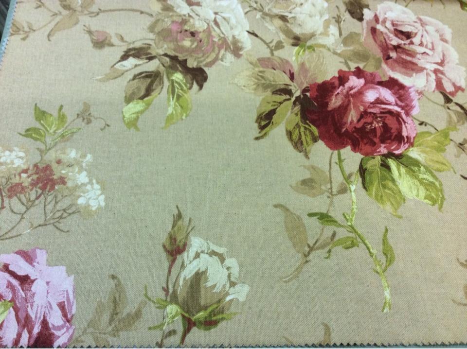 Купить ткань из хлопка и льна в Москве