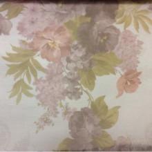 Тюль из органзы с цветочками 2247/31