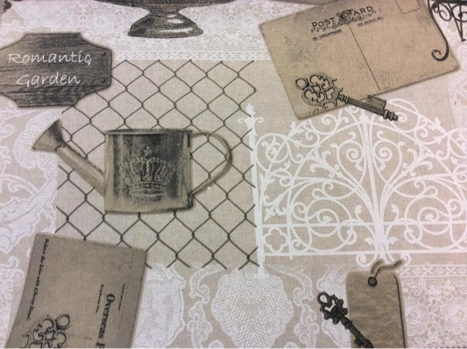 Хлопковая ткань под старину с рисунком заказать в магазине