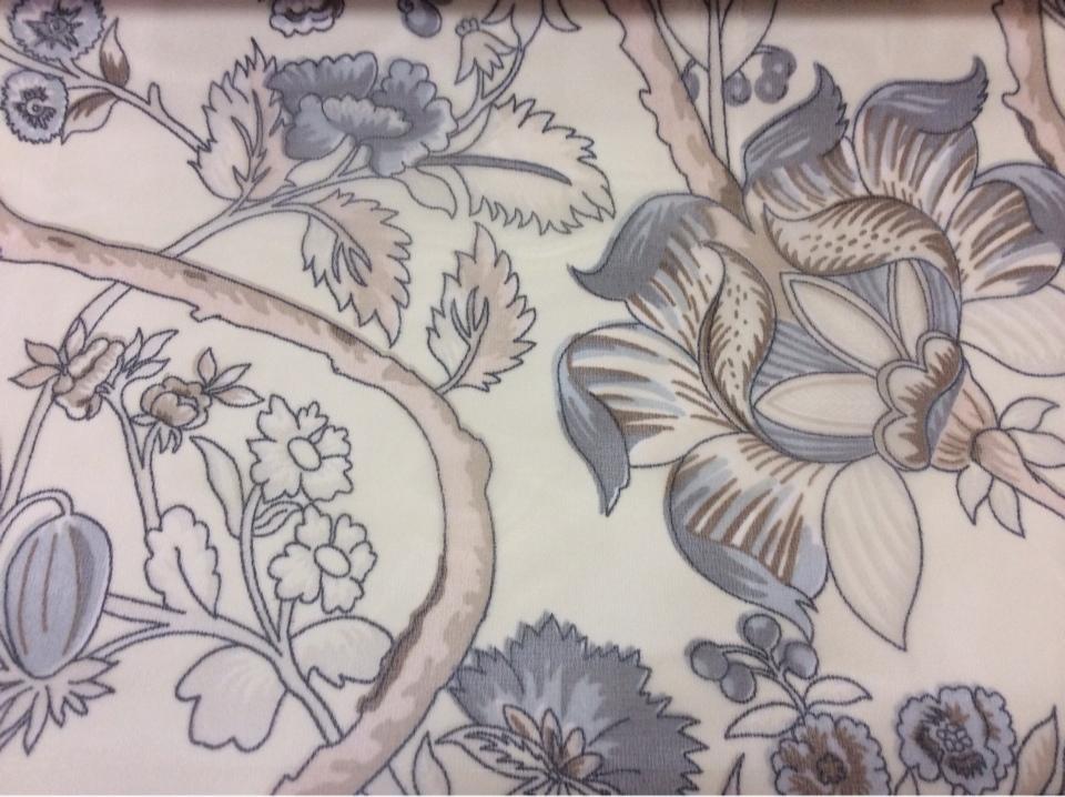 Красивая микровуаль ткань в стиле пейсли