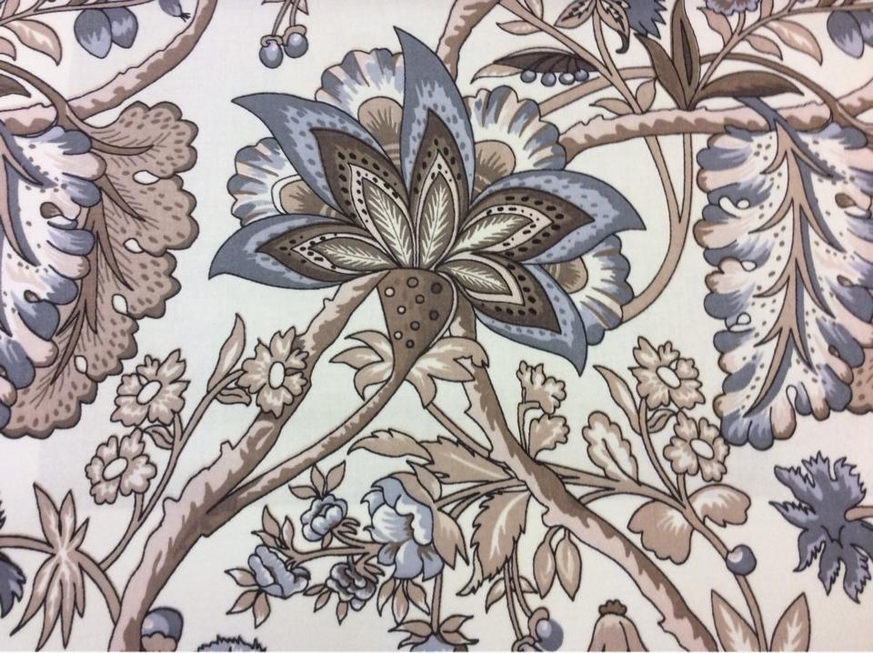 Испанская хлопчатобумажная ткань для штор