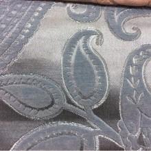 Синяя портьерная ткань, атлас, шенил 1414 цвет: V-1160. Турция, цвет синий 100% полиэстер
