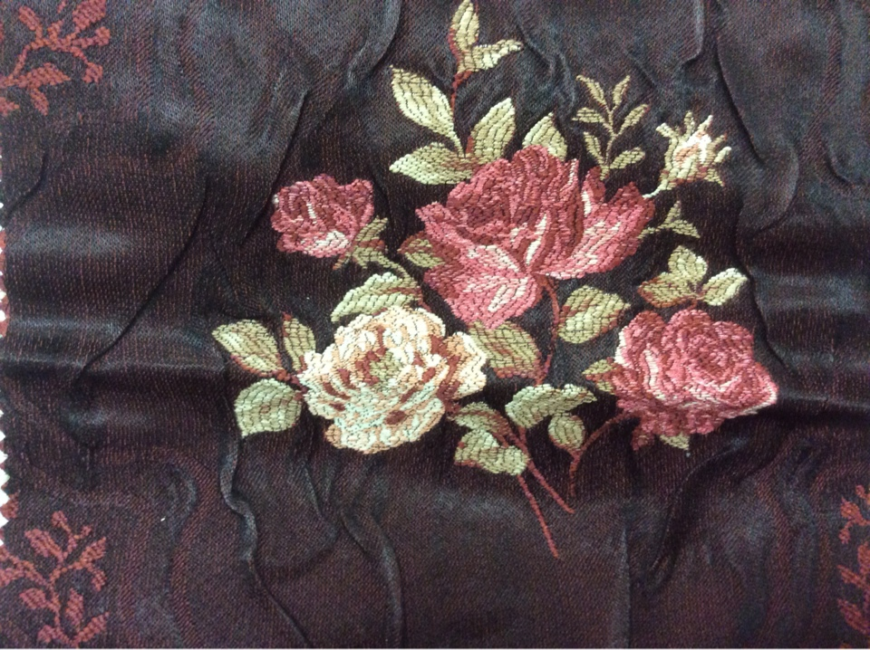 Купить красивую жаккардовую ткань для штор атлас Турция