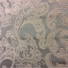 Атлас, шенил, стиль портьерной ткани пейсли 2332/41. Испания, классический стиль, цвет морской волны