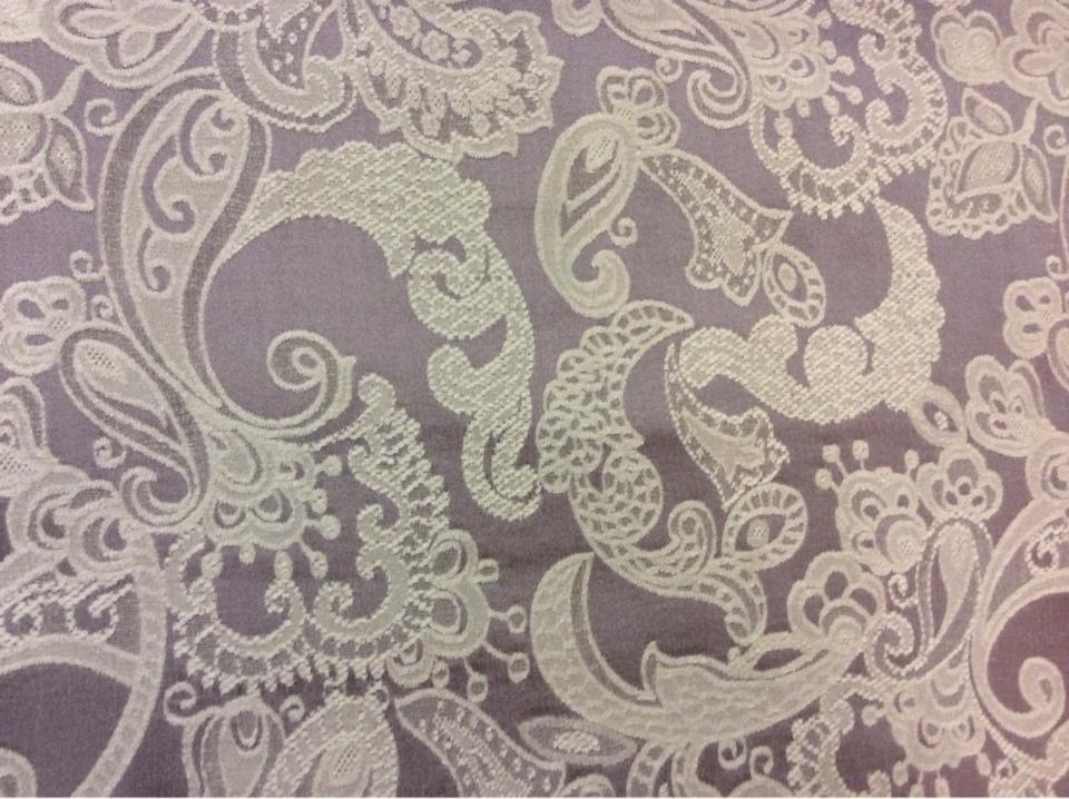 Портьерная, плотная ткань для штор 2332/43. Испания, атлас, шинил, сиреневый цвет, Европа
