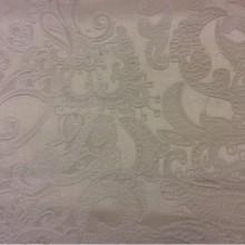 Плотная портьерная ткань для штор 2332/11. Европа, Испания, ванильного цвета. Атлас, шинил