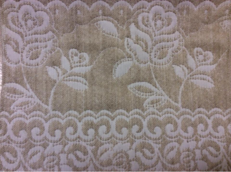 Двухсторонняя ткань для штор и покрывала Dorset, цвет Beige 30. Европа, Испания, портьерная, для покрывал. Бежевый фон, двухсторонняя купить