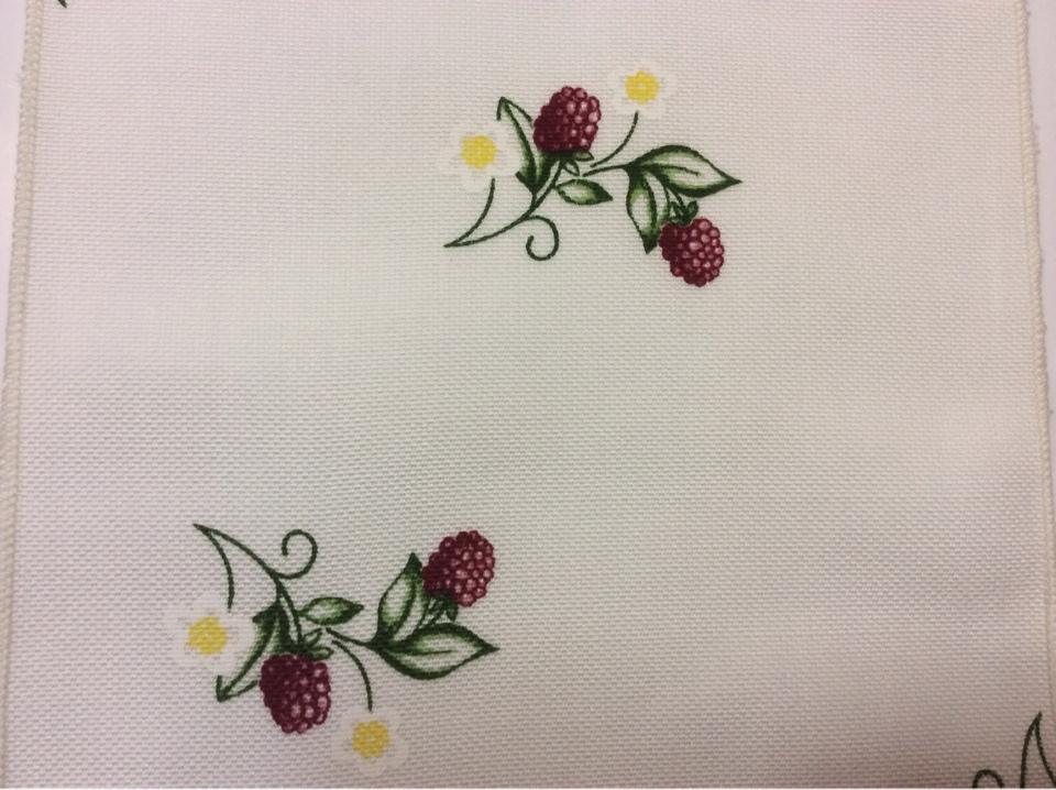 Ткань под хлопок Ragusa 45, цвет Vino 31. Европа, Германия. Малина, малиновый принт