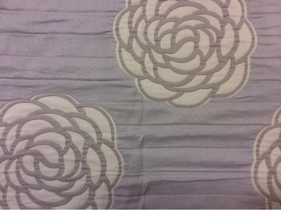 Двухсторонняя ткань для штор из хлопка Jeniffer 06. Европа, Испания. Серые, бежевые розы ( абстракция) в стиле ар-нуво купить