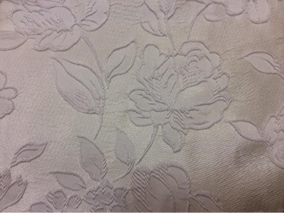 Ткань для штор из Англии 5166 V.009. Европа, Англия, вискоза, атлас, портьерная. Белые розы