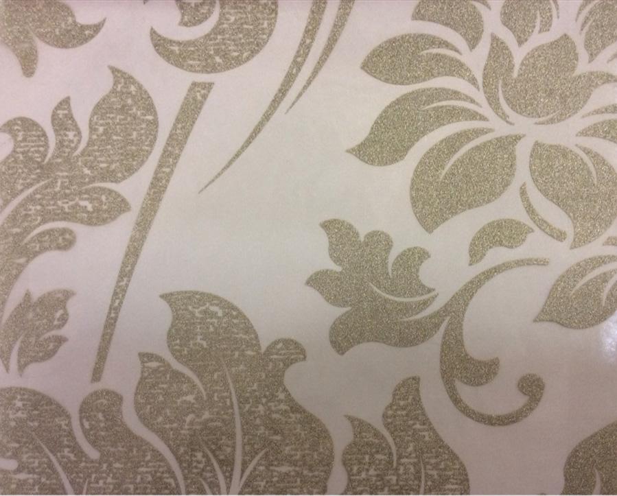 Красивый итальянский тюль в стиле барокко Belvedere 26. Европа, Италия, тонкий тюль. На прозрачном фоне серебристый орнамент (цветы) купить, заказать в интернет-магазине