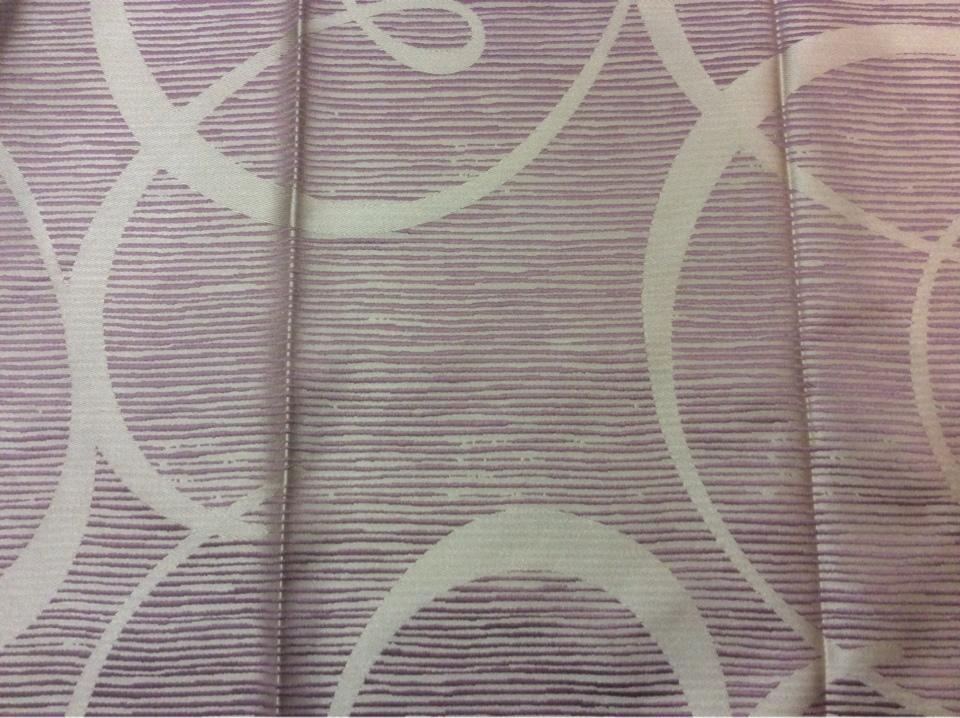 Турецкая ткань для штор из атласа Des: J - 12122, col: 7805. Турция, портьерная. Фон цвета брусники с гибкими линиями