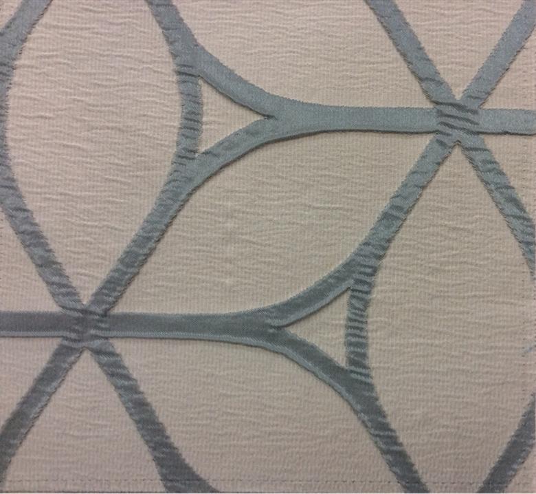 Ткань для штор в стиле модерн Alicante 02. Европа, Италия, портьерная. Бирюзово-сероватый фон заказать
