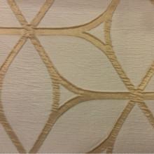 Жатая ткань с выпуклым нанесением, эффект 3D. Италия, Европа, портьерная ткань для штор. Золотисто-бежевый фон