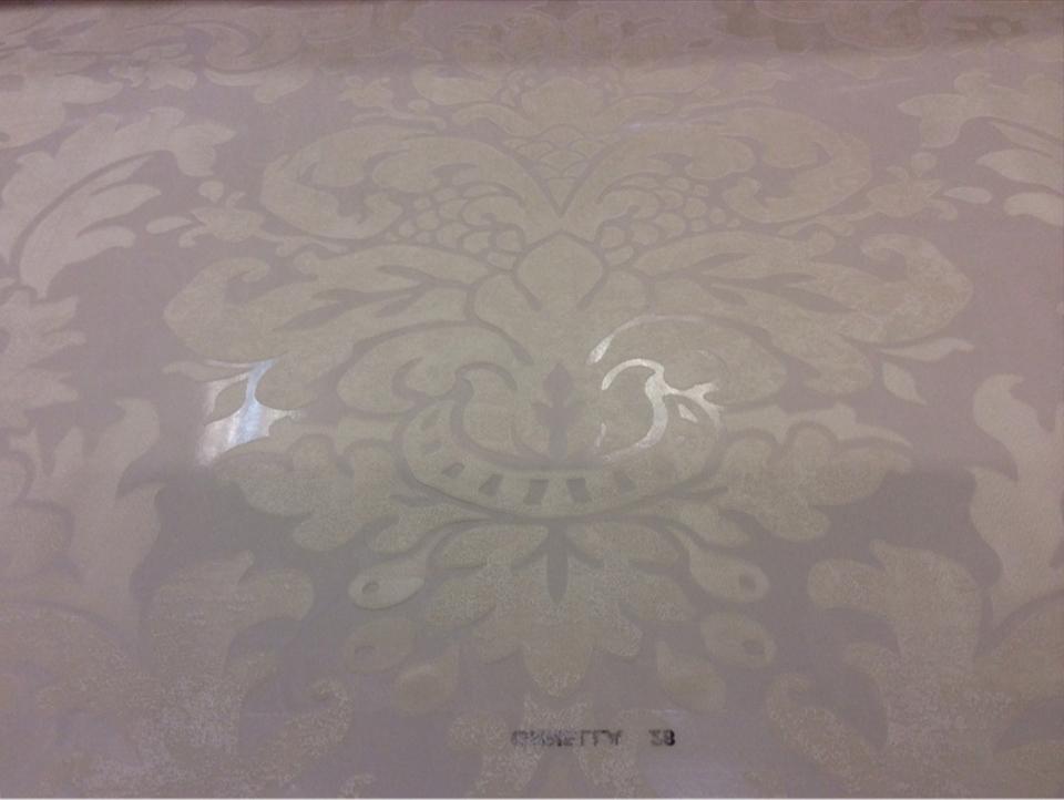 """Тонкая ткань с вискозной нитью Ornella 28. Италия, Европа, прозрачный тюль. Светлый фон, ванильный принт """"под старину"""" купить"""