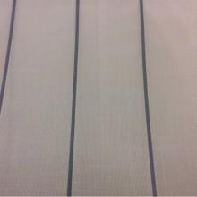 Испанская тюлевая ткань с добавлением хлопка Cindy 07. Европа, Испания, тонкий тюль. На белой сетке голубые полосы