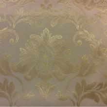 Купить ткань из каталога ткани барокко 2374/12. Франция, Европа, портьерная. Ванильный фон, золотистый орнамент