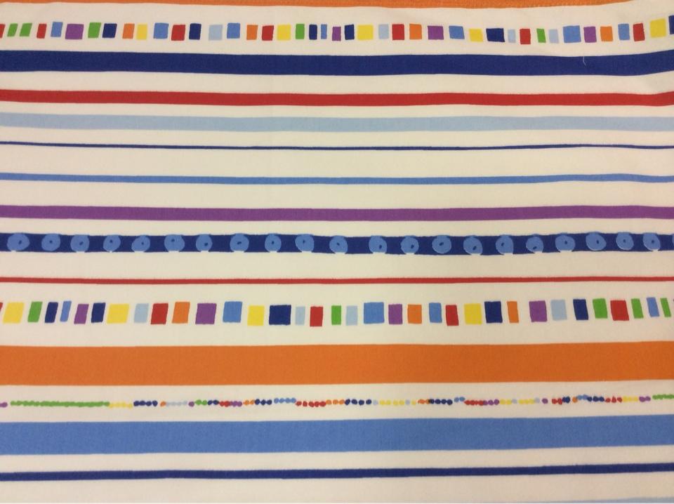Ткань для штор в стиле китч Pets Raya. Airjet. Col 3. Испания, Европа, портьерная. Полоска, геометрические фигурки под заказ в Москве