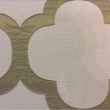 Жатая ткань с крупным орнаментом Alicante 32. Италия, Европа, портьерная. Серовато-оливковый фон