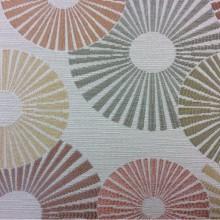 Ткань в стиле модерн в Москве Paloma 11. Испания, Европа, портьерная. Абстракция круги, цвет ткани микс