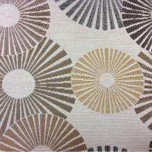 Ткань в стиле модерн с абстракцией круги Paloma 32. Испания, Европа, портьерная. Абстрактные круги, микс