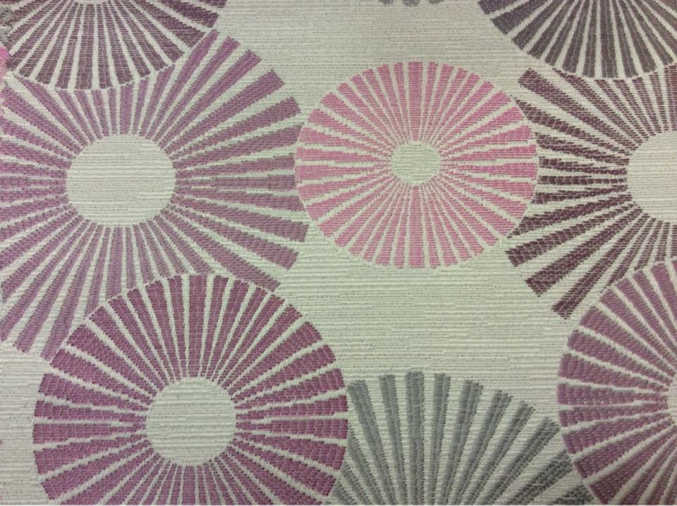 Ткань с абстрактным рисунком круги Paloma 39. Европа, Испания, портьерная ткань. Абстрактные круги, микс купить в Москве