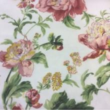Ткань из шифона с ярким цветочным принтом 2403/31. Италия, Европа, тонкий тюль.