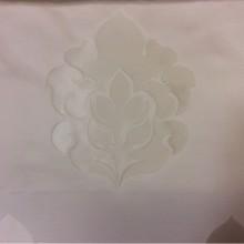 Атлас с принтом, лён в стиле арт-деко 2358/10. Италия, Европа, портьерная ткань для штор. Ванильный фон, ванильный орнамент