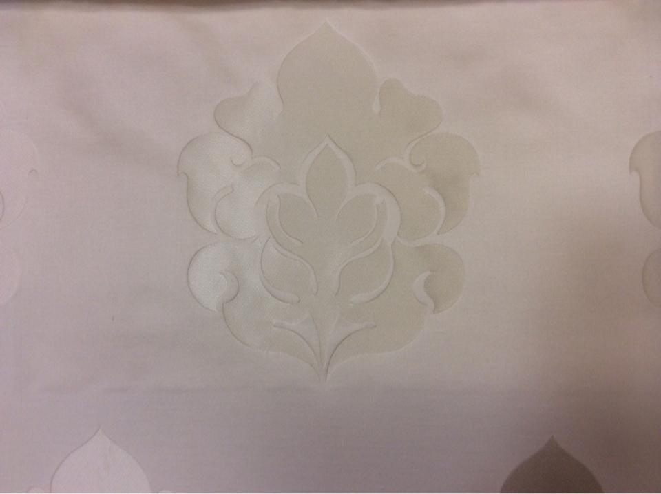 Атлас с принтом, лён в стиле арт-деко 2358/10. Италия, Европа, портьерная ткань для штор. Ванильный фон, ванильный орнамент купить