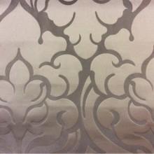 Купить итальянскую ткань для штор в Москве 2366/28. Италия, Европа, портьерная. Шоколадный фон, шоколадный орнамент