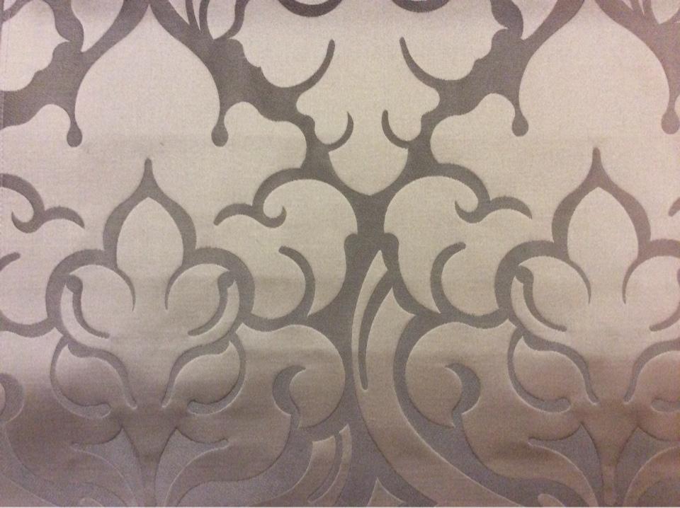 Купить итальянскую ткань для штор в Москве 2366/28. Италия, Европа, портьерная. Шоколадный фон, шоколадный орнамент купить