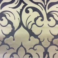 Купить итальянскую ткань в интернете 2366/20. Италия, Европа, портьерная. Фон цвета венге, золотистый орнамент