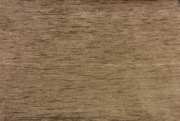 Заказать ткань для штор из однотонного шенила в мелкий рубчик Aquamarine, col 37. Европа, Испания, портьерная. Коричневый оттенок ткани