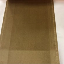 Ткань из бархата табачного цвета Haven, col 20. Италия, Европа, портьерная